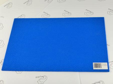 Filc samoprzylepny niebieski A4