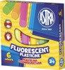 Plastelina 6 kolorów fluoerescencyjnych Astra